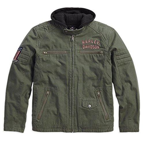 Harley Davidson® Men's Long Way 3-in-1 Jacket - 98563-15VM (L)