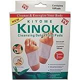 Original Kinoki Detox fusspads-Vital Plaster pour les pieds dans le Basse 5Pack = 50Pads-AS Seen on TV.