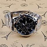 072b1d0a8079 Susenstone Moda negocio hombres reloj de cuarzo de acero inoxidable