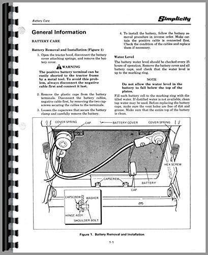 Misc. Tractors Simplicity 4041 Lawn & Garden Service Manual -