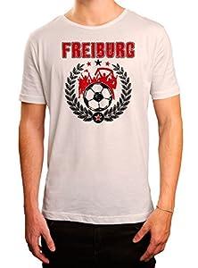 Freiburg #3 Premium T-Shirt | Fussball | Fan-Trikot | #jeden-verdammten-Samstag | Herren | Shirt © Shirt Happenz