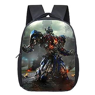 Transformers Mochila Casual Mochila Casual de Moda clásica Bolsa Mochila para niños