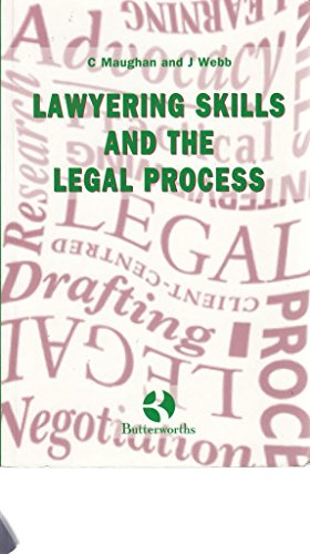 Lawyering Skills and the Legal Process