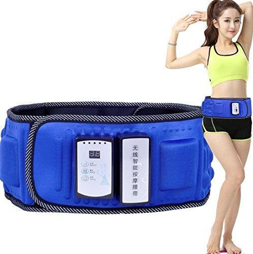 Wireless Massage Belt Electric Stimulators,Slimming Fitness Belt Electric Lose Weight Vibration Waist Exerciser Belt Fast Weight Loss/Management Slimming