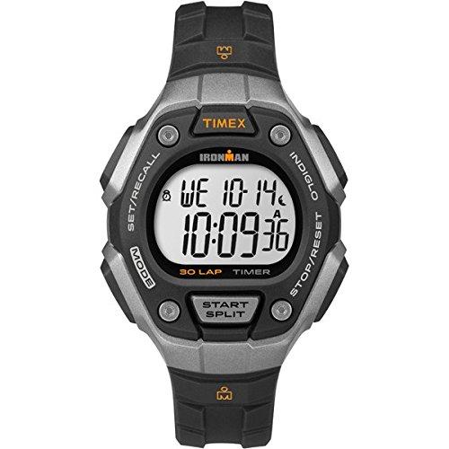 Timex Damen-Armbanduhr Sportuhren Ironman Classic 30 Digital Quarz TW5K89200 (Timex Damen-armbanduhr Blau)