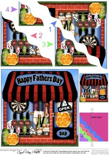 la-petite-dernire-goutte-inn-shop-fathers-day-onduls-dcoration-dangle-par-carol-clarke