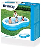 Bestway Planschbecken The Big Lagoon Family Pool, 262 x 157 x 46 cm -