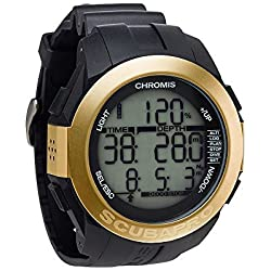 Uwatec by ScubaPro Chromis Wrist Computer (Gold) by Scubapro