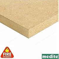 Builder comerciante cnklj0061retardante de fuego, tablero de madera DM, madera, 25x 1220x 610mm