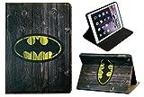 Pour Apple iPad Air 2(iPad 6) classique Batman Marvel Comics Coque avec support