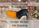 Sven Gruse Under Water! Fish Shooting (Wall Calendar 2019 DIN A4 Landscape): Enjoy the impressive underwater world (Monthly calendar, 14 pages ) (Calvendo Sports)