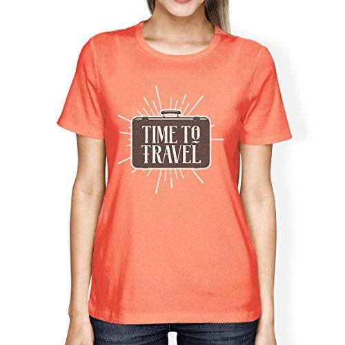 365 Printing -  Canotta  - Maniche corte  - Donna Time To Travel