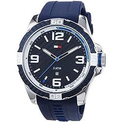Tommy Hilfiger Watches Gents Watch XL Analogue Quartz Silicone 1791091 BRODIE