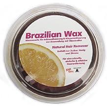 400g Süß Wax, cire au sucre bresilienne, maillot bresilien, bikini wax, cire epilatoire, cire rafraichissante, cire epilante, pour epilation polaire 100% naturelle + 20 bandes de molleton