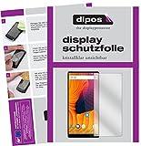 dipos I 2X Schutzfolie klar passend für Vernee Mix 2 Folie Bildschirmschutzfolie