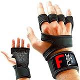 Fitness Handschuhe Trainingshandschuhe Atmungsaktiv Mit Handgelenkstütze und Anti Rutsch Gewichtheben, Krafttraining, Gym, Crossfit, Calisthenics und Bodybuilding Für Damen und Herren