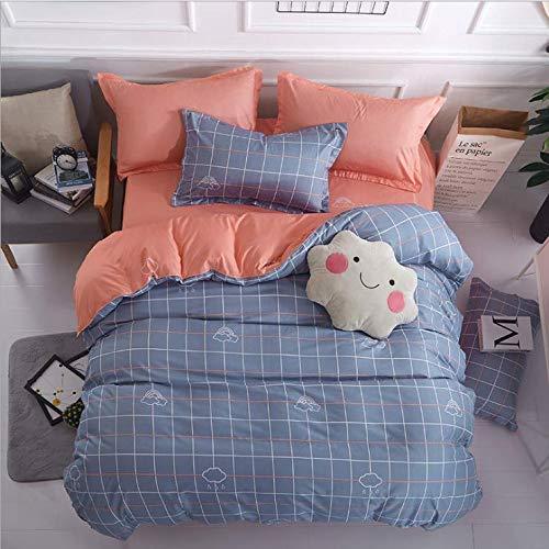 Armee Der Königin Bettdecke (SHJIA Bettwäsche Set Schwarz Farbe Cartoon Bettbezug Blatt Bettdecke Einzel Voll Königin King Size Bettwäsche Für Kinder Blau 220x240 cm)