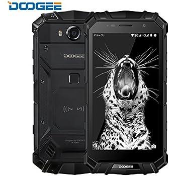 DOOGEE S60 IP68 Smartphone libre - Impermeable Antipolvo Antigolpes 4G Android 7.0 Nougat Resistente Móvil libre, 5.2