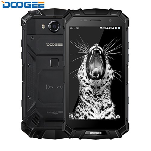 DOOGEE S60 IP68 Smartphone libre - Impermeable Antipolvo Antigolpes 4G Android 7.0 Nougat Resistente Móvil libre,...