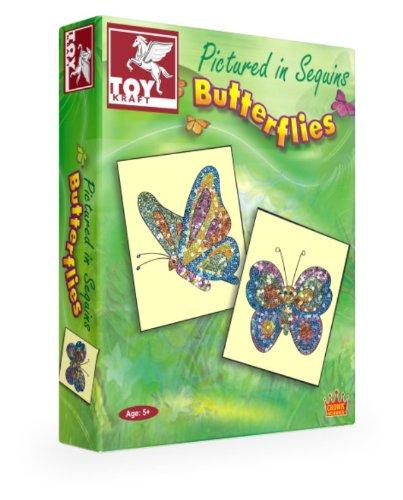 ToyKraft Pictured in Sequins Butter Flies