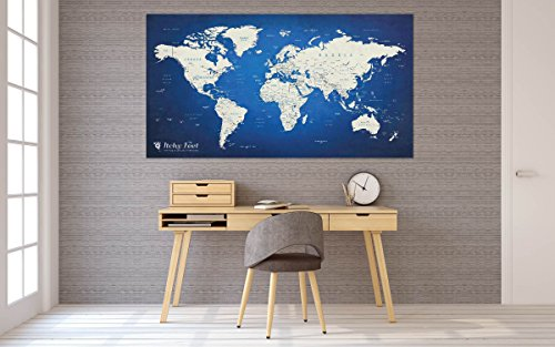 Weltkarte XXL in