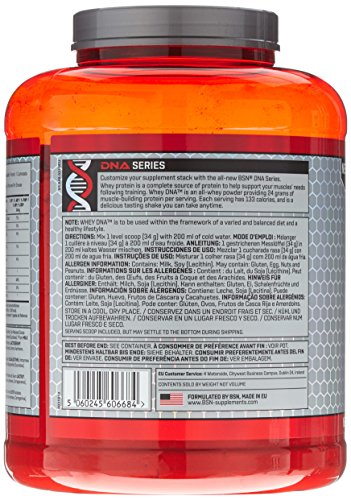 BSN Dna Whey Chocolate, 1 x 1.87 kg - 4