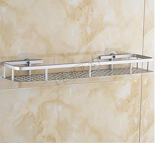 Ponche gratis wc rack nail-libre espacio pared aluminio