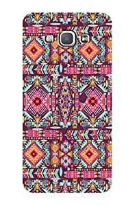 ZAPCASE PRINTED BACK COVER FOR SAMSUNG GALAXY A8