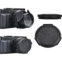 Automática tapa del objetivo para Panasonic Lumix DMC LX100 - Por favor, preste atención a la notificación