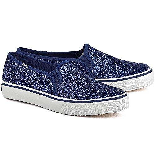 Keds Double Decker Glitter Sneakers (Blau) Blau