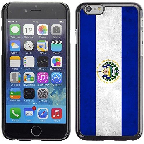 Graphic4You Vintage Uralt Flagge Von Argentinien Argentinische Design Harte Hülle Case Tasche Schutzhülle für Apple iPhone 6 Plus / 6S Plus El Salvador Salvadorianisch