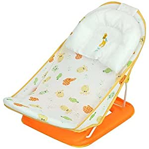 Mastela Mother's Touch Deluxe Baby Bather - Orange