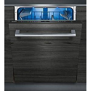 Siemens SN658X16PE Geschirrspüler Vollintegriert / A+++ / 230 kWh/Jahr / 2660 L/jahr / Maschinenpflegeprogramm / WLAN-fähig mit Home Connect / Anzeige Restlaufzeit, Amazon Dash Replenishment fähig