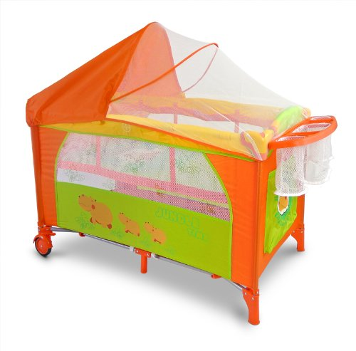 Milly Mally 0172Viaje Cama Infantil Mirage Deluxe, Gris
