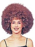 Bristol Novelty bw484Beyonce Afro Perücke braun, One Size