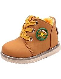 Kukul Invierno Botas para Niños y Niñas Zapatos Nuevo Zapatillas de Deporte 1-5.5 años