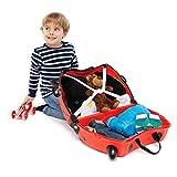Trunki Ride-on Suitcase und PaddlePak Koffer-Set, 18 Liter, Rot - 3