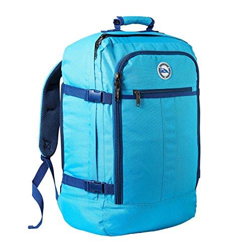 c25fd3db1d Cabin Max Metz Zainetto bagaglio a mano/da cabina, 44 litri, dimensioni  approvate 55x40x20 cm su voli IATA (Stratos Blue)