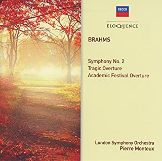 Brahms: Symphony No. 2; Overtures by Pierre Monteux (B01EUBL5TO) | Amazon Products