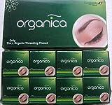 Bobine 16x 300m vardhaman Organica Biologique coton sourcils filetage filetage Inde