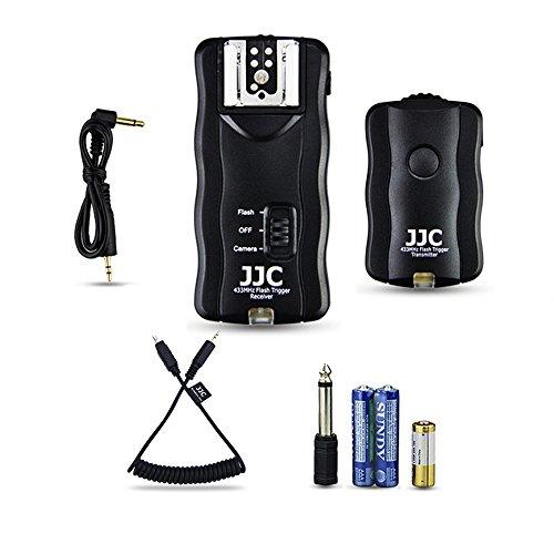 JJC Studio Blitz Funkauslöser Blitzauslöser Fernauslöser für Nikon D3300 D5500 D5600 D5300 D750 D7200 D7500 D7100 D7000 D5200 D5100 D5000 D3200 D3100 D610 D600 D90 DF P7700 P7800 - D3200 Flash-kit Nikon Für