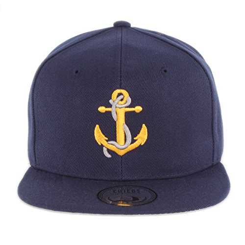 Johnny Chicos Snapback Anker Cap, Größe:One Size;Farbe:Anker
