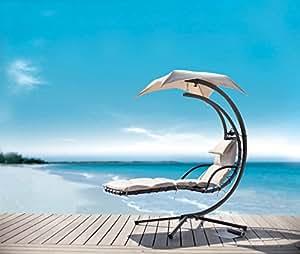 Sobuy ogs16 bain de soleil hamac transat suspendu lit for Balancelle jardin belgique