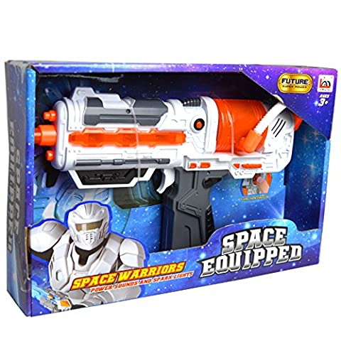 Space Military Uzi Pistol Toy With Sounds And
