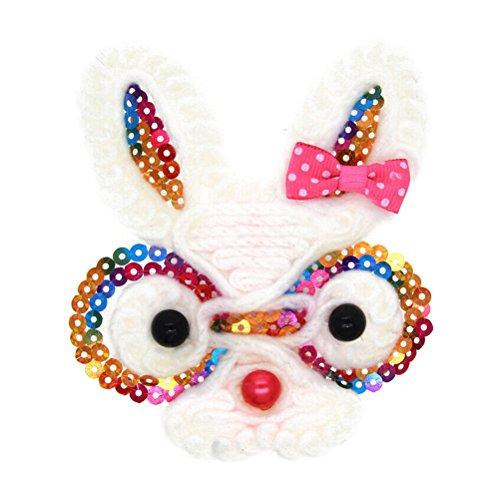 OULII Baby Headwraps Bunny Rabbit Haarband Haarband für Partei begünstigt verkleiden Kostüm Ostern Haar (Bunny Kostüme Kleinkind)