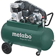 Metabo Mega 350-100 D - Compresor 3 CV 90 litros correas trifásico