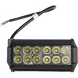 LE Foco LED 36W para Coche, 3600lm, luz auxiliar para off-road uso fuera de carretera, camiones, coches, todo terrenos, barcos