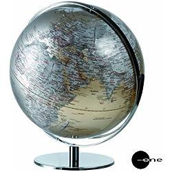 Mascagni - Globo terráqueo (42 cm, metalizado, con luz)