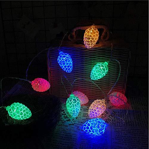 Explosion Modelle Farbe Risse Herbst Tannenzapfen 3 m 20 LED-Leuchten Schlafzimmer Zimmer Urlaub Party Dekoration Sternenlichterkette -