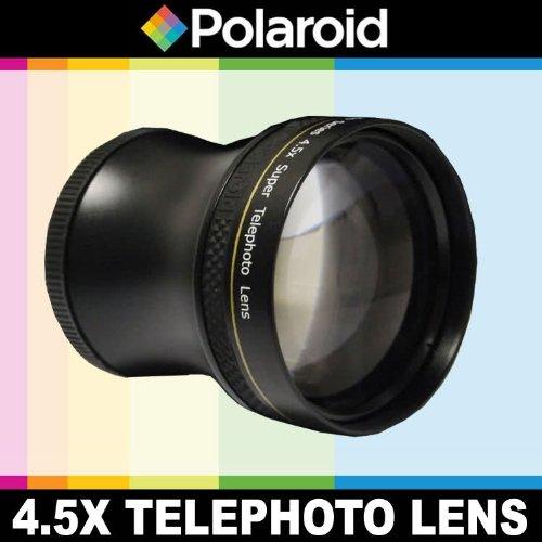 Super Telefoto 4.5x di Polaroid Studio Series, include una custodia di obiettivo e i coperchi di obiettivo per l